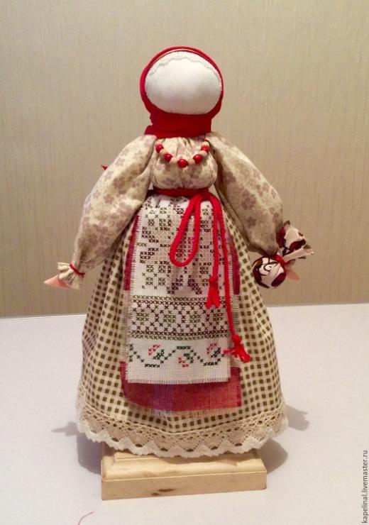 дома руками берегиня кукла своими