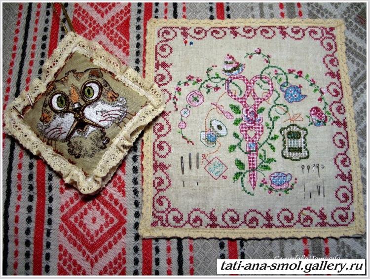 Русский сувенир вышивка 85