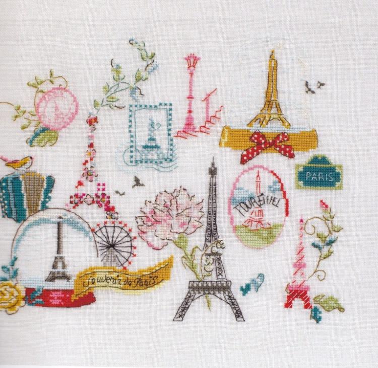 Схема вышивки путешественники 49