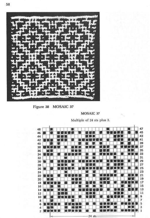 Вязание спицами узор ленивый жаккард схемы 692