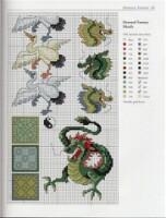 Вышивка дракон приметы 85