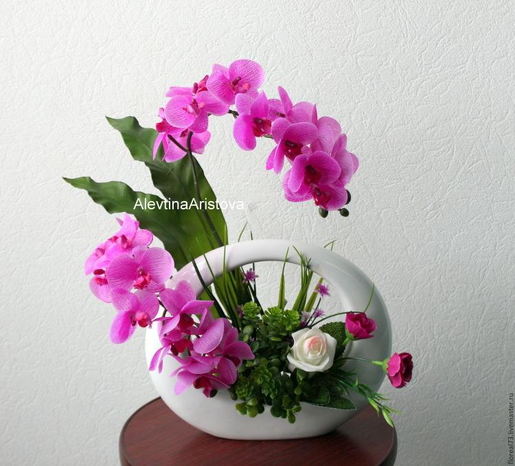 Топиарий из орхидей 84