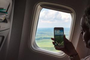 Телефон в самолете
